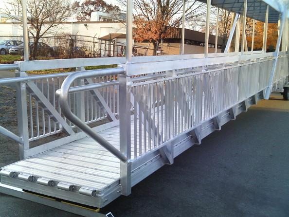 Aluminum Gangways & Ramp Systems | Bristol Industries